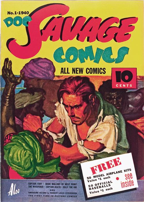 Doc Savage Comics #1 – June, 1940