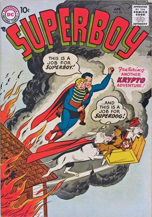 Superboy #56 – April, 1957