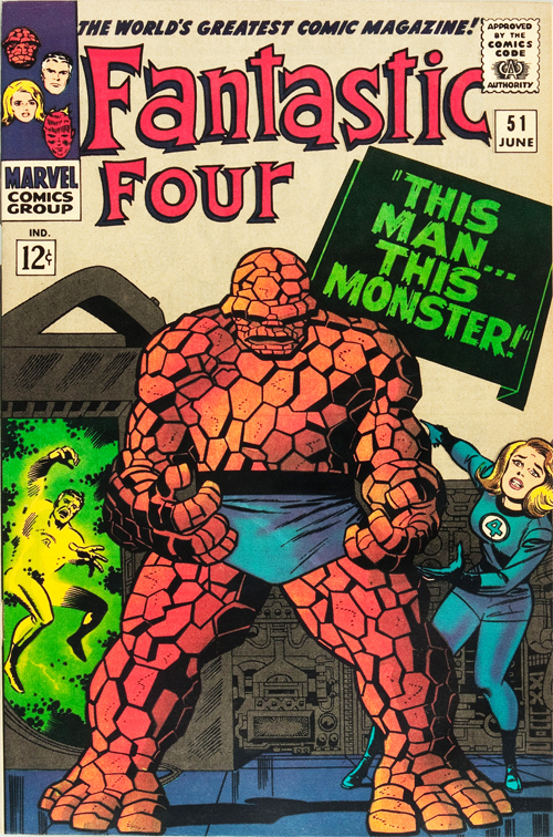 Fantastic Four #51 – June, 1966