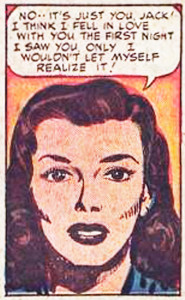 Young Love #4 (1949) - art by Jack Kirby