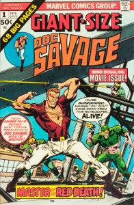 Giant-Size Doc Savage - January, 1975