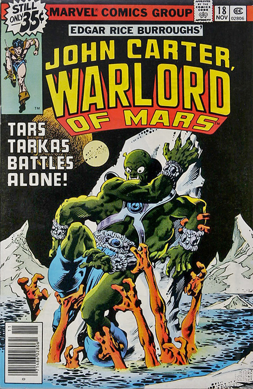 John Carter, Warlord of Mars #18 – November, 1978