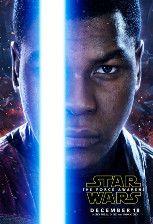 Finn The Force Awakens character posters