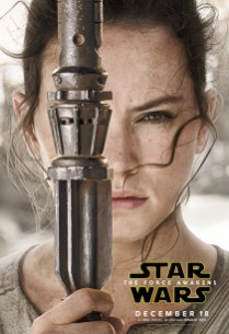 Rey The Force Awakens character posters