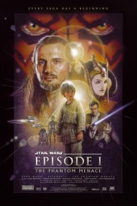 Drew Struzan The Phantom Menace poster