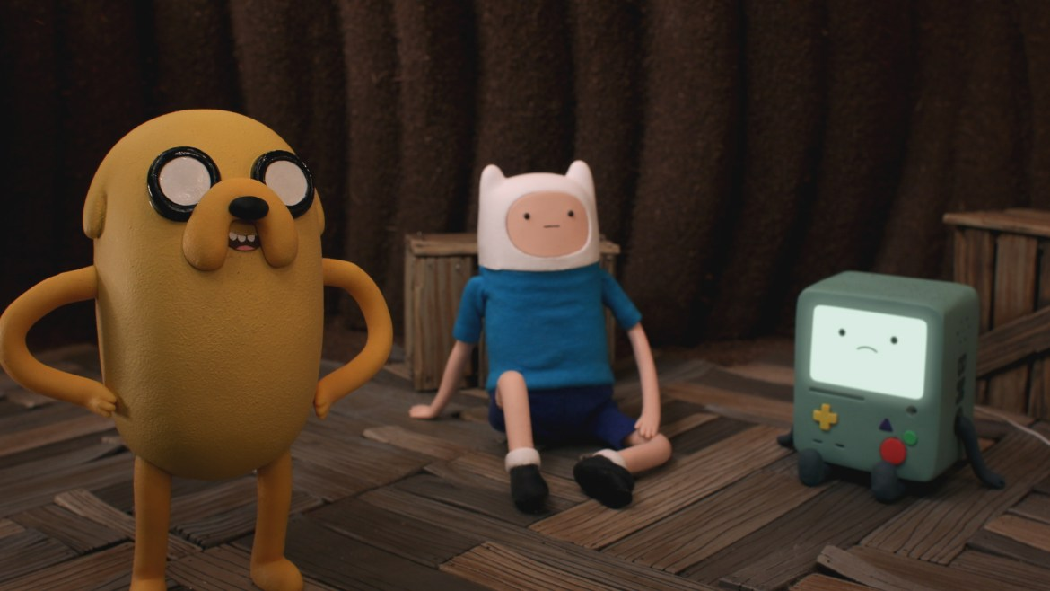 Adventure Time's first stop-motion episode Bad Jubies