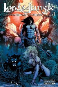 Lords of the Jungle #1 - Roberto Castro cover