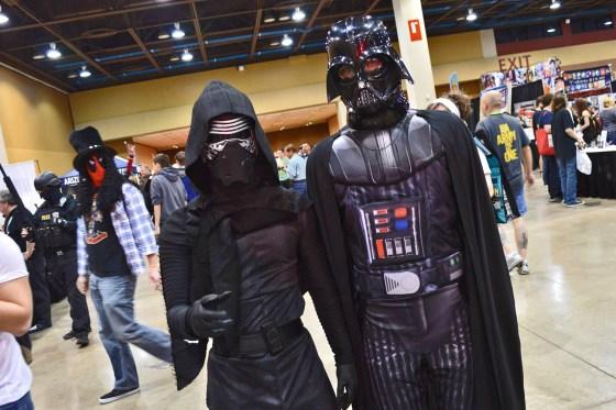 Kylo Ren and Gramps at Amazing Arizona Comic Con 2016