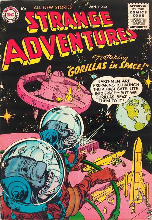 Strange Adventures #64 – January, 1956