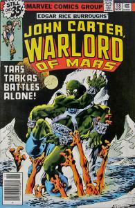 John Carter, Warlord of Mars #18