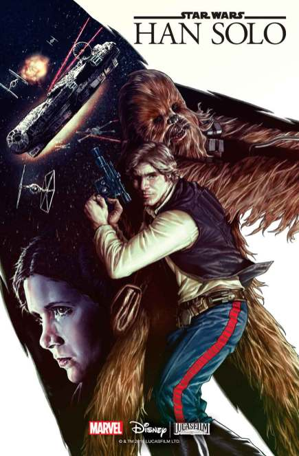 Star Wars Han Solo #1 comic cover
