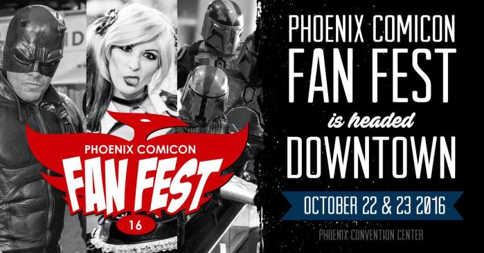 Phoenix Comicon Fan Fest 2016