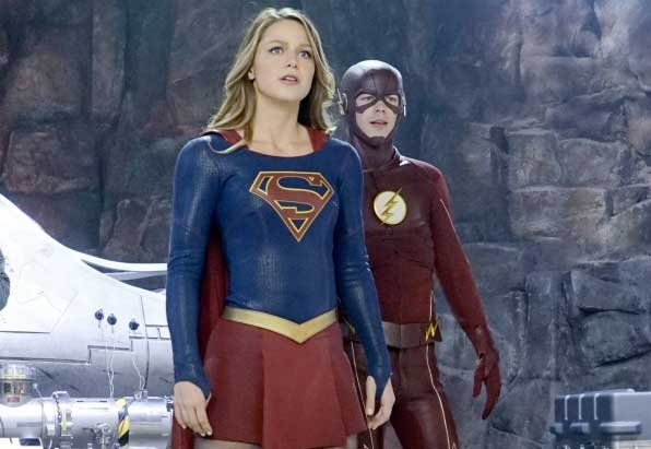 """Supergirl meets The Flash in """"World's Finest."""""""