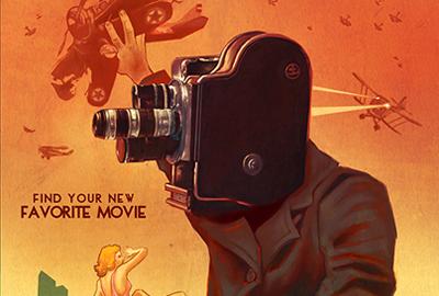 Phoenix Film Festival poster art by Alex Patrick Merrill