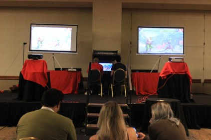 The AZHP Gaming tournament area. [photo by Christen Bejar]