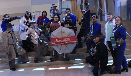 A Fallout cosplay gathering. [photo by Christen Bejar]