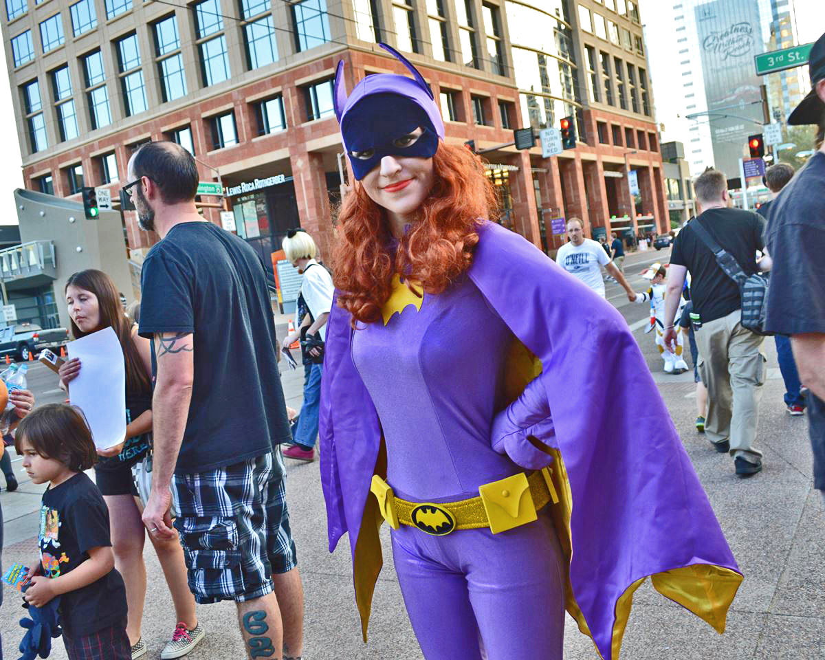 Batgirl (from Heroes United AZ) at Phoenix Comicon 2016