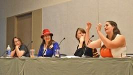 Constellations and Pop culture - (L-R) Lisa Will, Karen Knierman, Amelia Stahl, Teresa Ashcraft