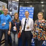 Get your arse to Mars panel, Sunday June 5, 1030 in 232ABC , with AIAA (L-R) Eric Hoffman-Watt, Michelle Rouch, Alan Jennings, Elishka Jepson