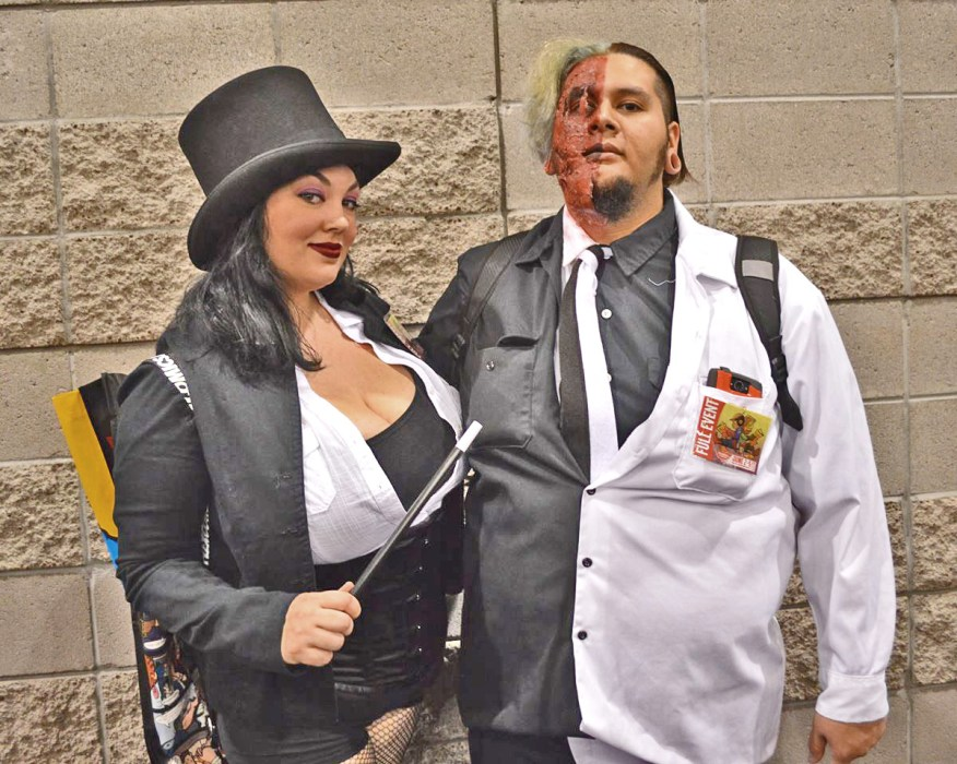 Zatanna and Two-Face