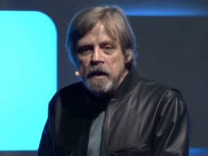 Mark Hamill at Star Wars Celebration Europe 2016