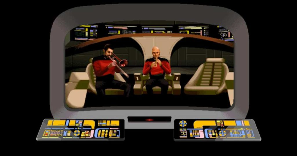 Star Trek: The Next Generation screensaver