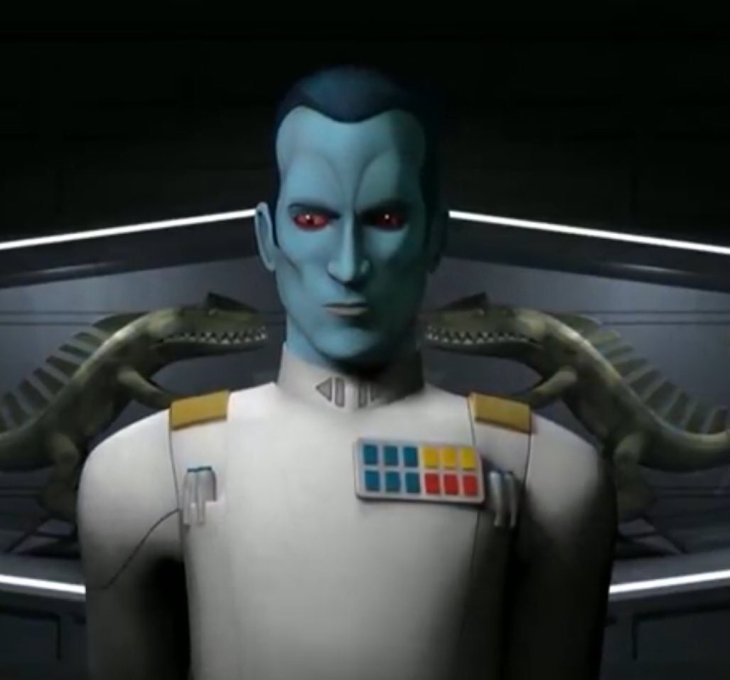 Grand Admiral Thrawn in Star Wars Rebels