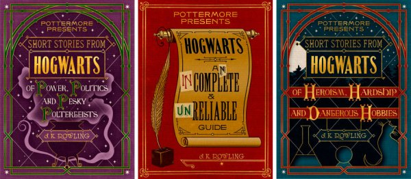 Pottermore Presents Hogwarts short story collections
