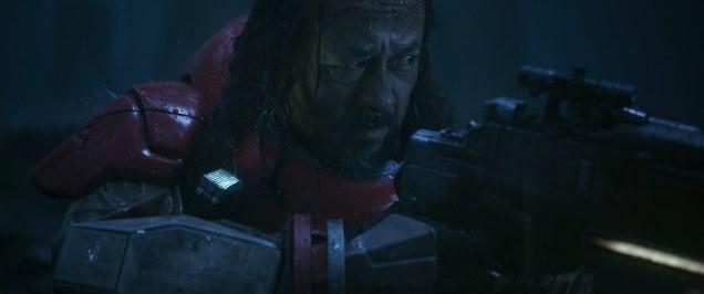 Baze Malbus (Jiang Wen) in Rogue One: A Star Wars Story