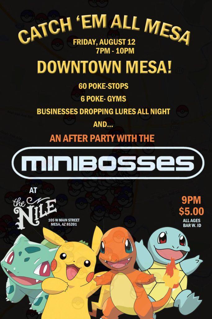 Pokemon Go Minibosses