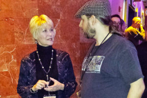 Dee Wallace Stone with Hal C F Astell at Phoenix Film Festival