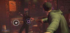 Combat continues to take a back seat in this Telltale series, so sequences of action are short this episode.