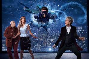 "Doctor Who Christmas special ""The Return of Doctor Mysterio"""