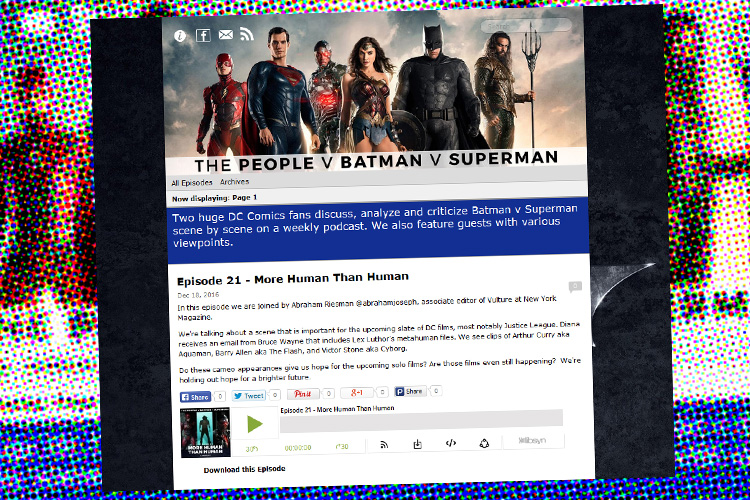 The People v Batman v Superman' Podcast