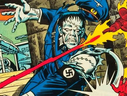 Invaders #31 - August, 1978 (Cover Artist - Joe Sinnott)