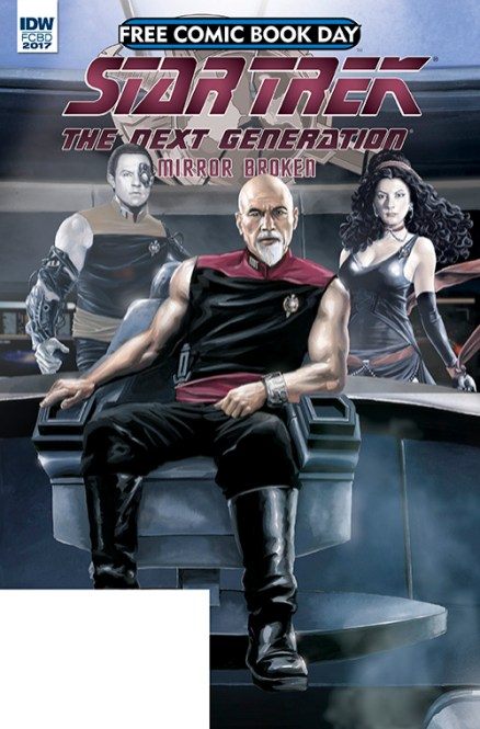 Star Trek: The Next Generation Free Comic Book Day 2017