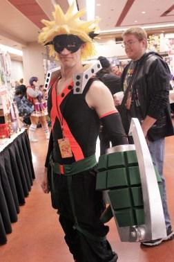 My Hero Academia cosplayer
