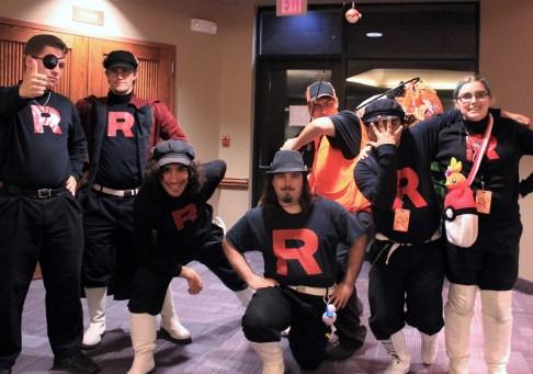 Team Rocket AZ strikes a pose.