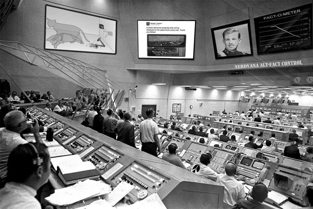 Nerdvana Alt-Fact Control Room (CLASSIFIED)