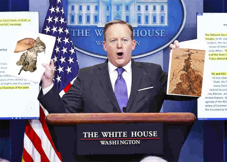 White House Press Secretary, Sean Spicer