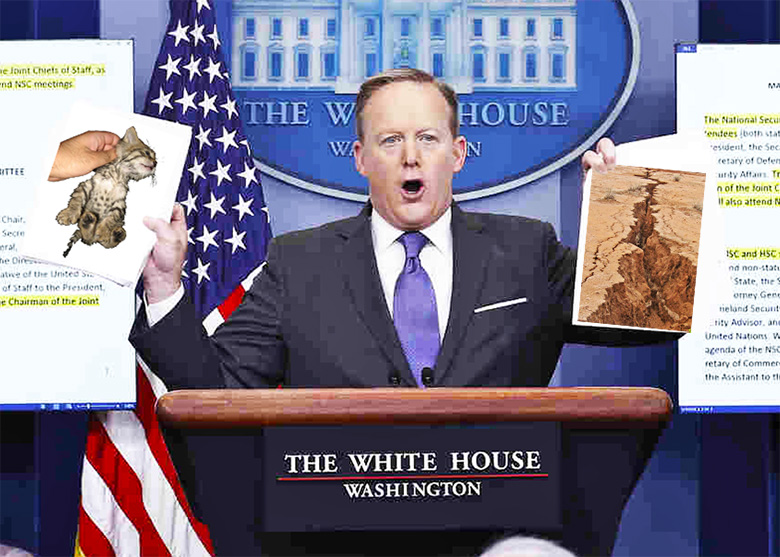White House Press Secretary, Sean Spicer