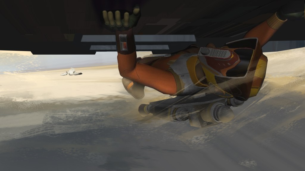 Star Wars Rebels: Ezra Bridger, man of action