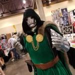 Doctor Doom - Phoenix Comicon 2017 – photo by Bob Leeper