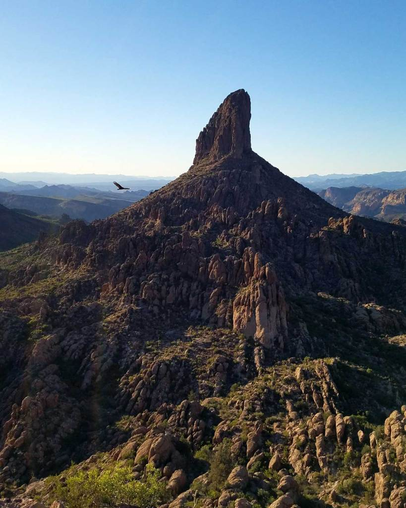 Weavers Needle Viewpoint off of the Peralta Canyon Trail in the Superstition Wilderness