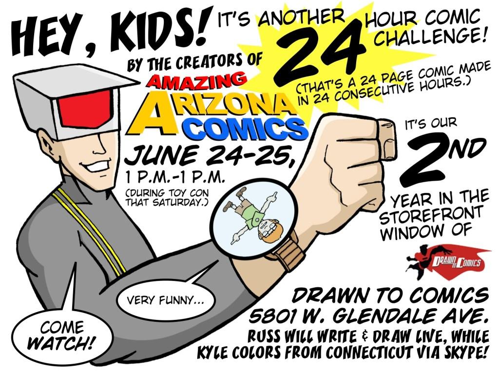 24 Hour Comic Challenge