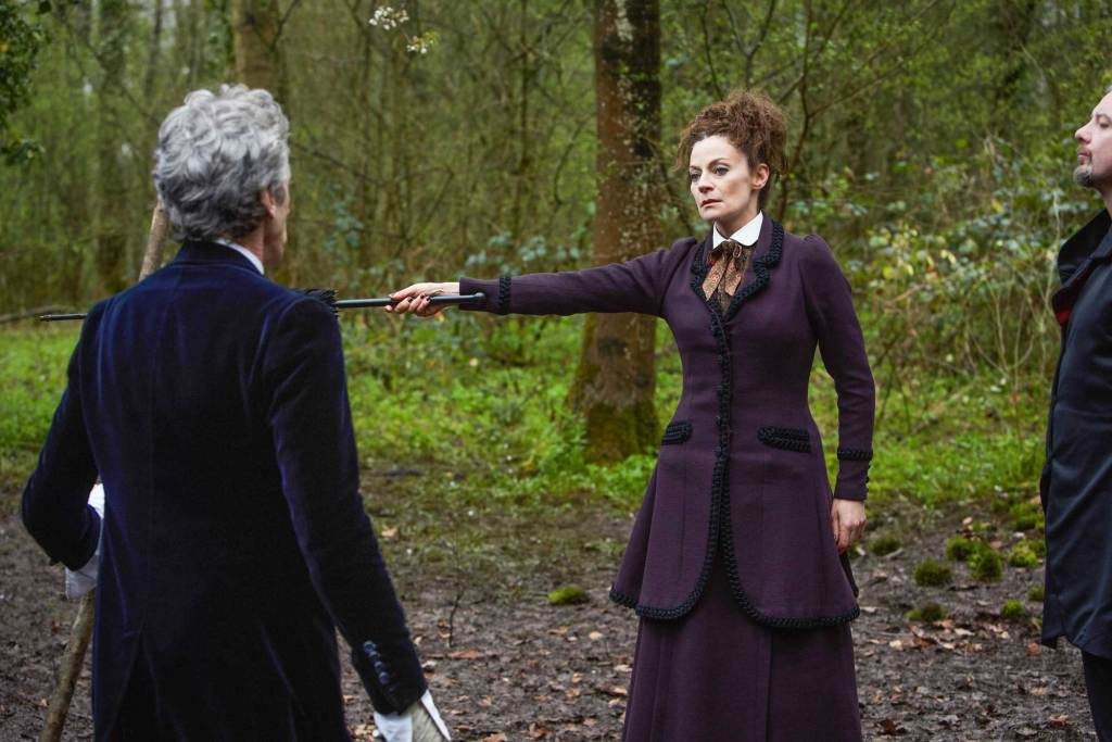 "Michelle Gomez' last appearance as Missy on televised Doctor Who was in the season 10 finale ""The Doctor Falls."""