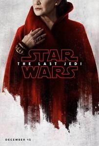 The Last Jedi Leia poster