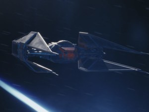 Kylo Ren's ship revealed: TIE Silencer targets Resistance
