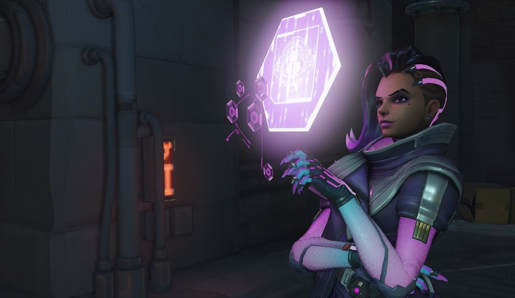 Sombra in Overwatch. Credit: Blizzard.