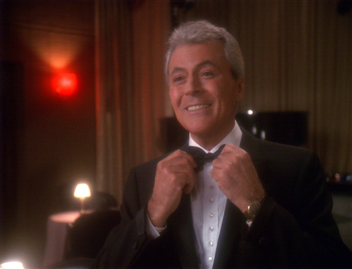 James Darren as Vic Fontaine, woke hologram (Paramount)